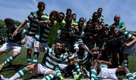 Sporting revalida título de campeão nacional de Juvenis