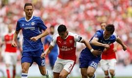 Chelsea e Arsenal abrem a temporada a 6 de agosto