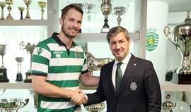 Bosko Bjelanovic prolonga contrato com o Sporting
