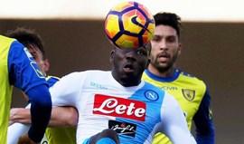 Koulibaly, a alternativa de Conte à nega da Juventus por Bonucci