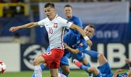 Anfitriã Polónia perde na estreia com a Eslováquia