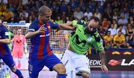 Inter Movistar goleia (6-1) Barcelona e força 'negra'