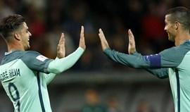 Ronaldo e André Silva formam dupla de ataque