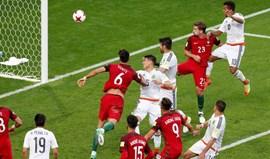 Portugal-México, 2-2