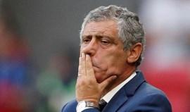 Fernando Santos e o golo anulado: «Ainda ninguém percebeu muito bem»