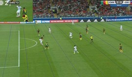 Vídeo-árbitro bastante ativo: agora anulou golo ao Chile