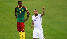 Grupo B: Chile vence Camarões com golos na reta final