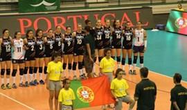 Portuguesas fecham participação na Liga Europeia com nova derrota