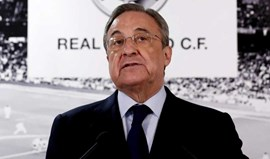 Florentino Pérez sucede... a Florentino Pérez na presidência do Real Madrid