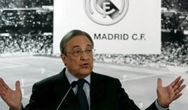 Florentino Pérez e a situação de Ronaldo: «Não sei o que aconteceu. Tudo isto é estranho...»
