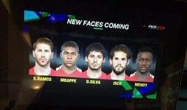 PES 2018: Cinco rostos em primeira mão