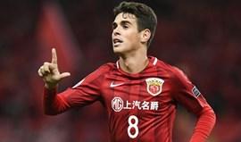 China: Óscar suspenso por oito jogos
