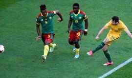 Camarões e Austrália alcançam primeiros pontos