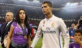 Ronaldo e Georgina esperam uma menina