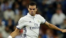 Besiktas em Lisboa para garantir Pepe