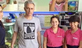 Mourinho não quer interferir nas contratações para andar... nisto