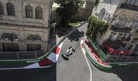 GP do Azerbaijão: Outra 'pole' para Hamilton em tarde de domínio Mercedes