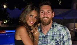Messi não dá sopa aos convidados mas sim muito pão