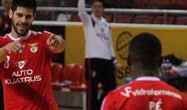 Benfica despede-se de Patias, Ré e Jefferson