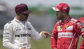 Lewis Hamilton acusa Vettel de condução perigosa