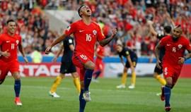 Portugal defronta o Chile nas meias-finais da Taça das Confederações