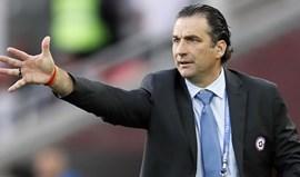 Juan Antonio Pizzi: «Temos de esforçar-nos para competir com Portugal»