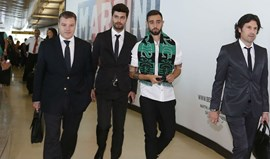 Bruno Fernandes já está em Lisboa
