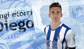 Real Sociedad contrata Diego Llorente ao Real Madrid