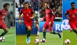 A renovação acelerada (e em competição) da Seleção Nacional