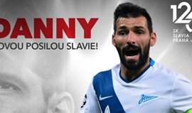 Danny assina pelo Slavia Praga