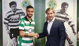 Oficial: Bruno Fernandes reforça Sporting