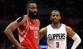 Chris Paul ruma aos Houston Rockets