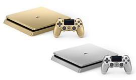 PS4: Chegaram os modelos prateado e dourado