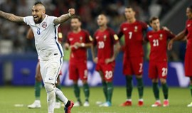 Portugal-Chile, 0-0 (0-3 pen.)