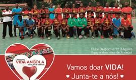 1.º de Agosto abraça causa solidária com empresa portuguesa