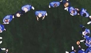 Esta imagem do Real Madrid tornou-se viral. E não é para menos