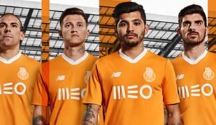 Aqui está o equipamento alternativo do FC Porto