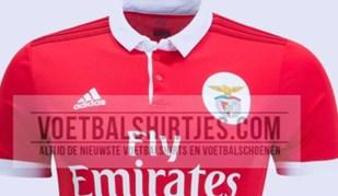 Mais imagens daquela que poderá ser a nova camisola principal do Benfica