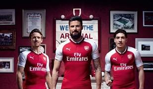 Arsenal já se vestiu para a próxima temporada