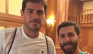 Casillas encontrou um Messi com ar de... Sergio Ramos