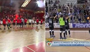 Insólito no hóquei: Benfica em festa na Luz e FC Porto numa peladinha em Gondomar