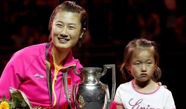 Ding Ning sagra-se campeã do mundo pela terceira vez