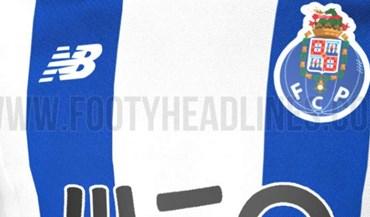 Esta deverá ser a nova camisola principal do FC Porto