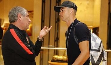 Cristiano Ronaldo completa a lista de craques à disposição de Fernando Santos