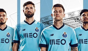 Conheça o terceiro equipamento do FC Porto para 2017/18