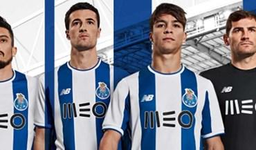 FC Porto mostra novo equipamento principal com Casillas na imagem