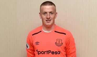 Jordan Pickford chega ao Everton como o quarto guarda-redes mais caro de sempre