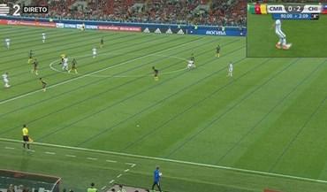 Vídeo-árbitro 'dá' golo ao Chile