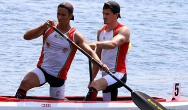 Europeus de sub-23: Bruno Afonso e Marco Apura nonos na final de C2 1.000