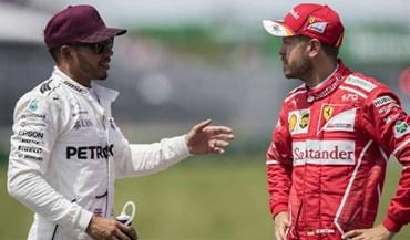 Hamilton responde a Vettel: «Se quer provar que é homem, devemos fazê-lo fora do carro»
